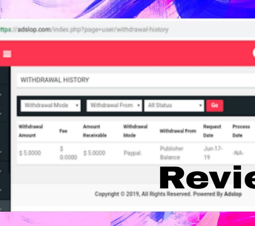 Adslop Review, cpc, CPM, Alternative