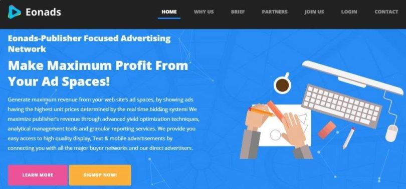 Eonads Overview: CPC/CPM ads Network – Bodhivriksh