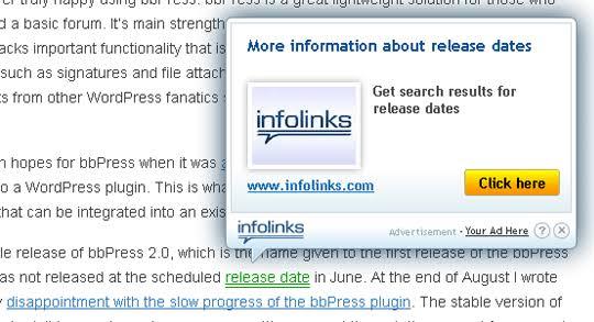 Look to InfoLinks