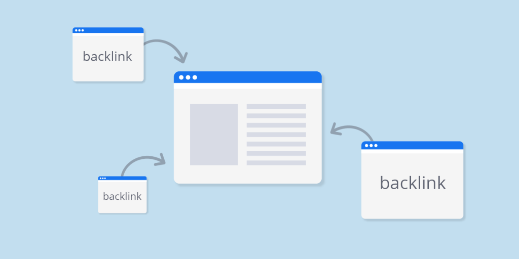 Backlink data flow