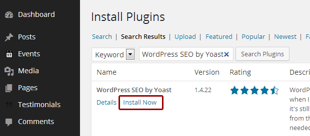How to install Yoast SEO Plugin
